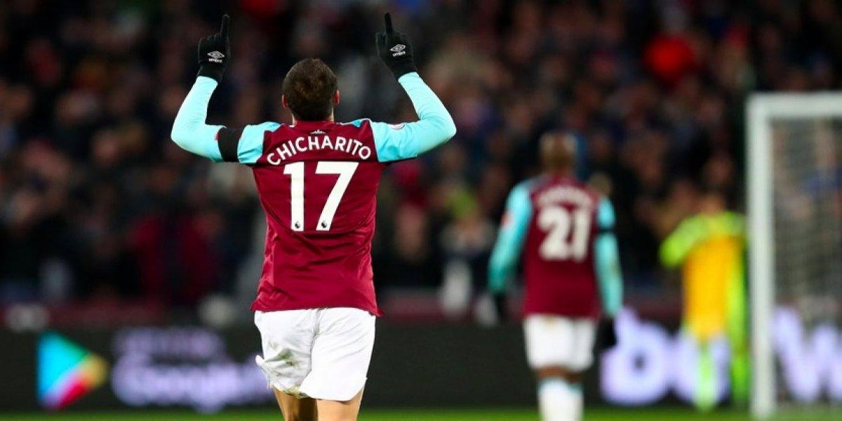 David Moyes descarta salida de 'Chicharito' del West Ham