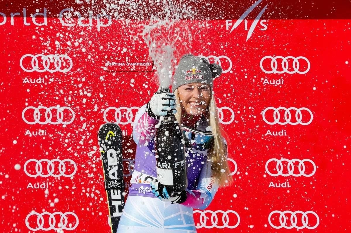 La esquiadora contabiliza ya un total de 79 éxitos en la Copa del Mundo |GETTY IMAGES