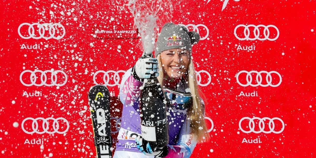 FOTOS: La hermosa Lindsey Vonn se proclama campeona en el Mundial