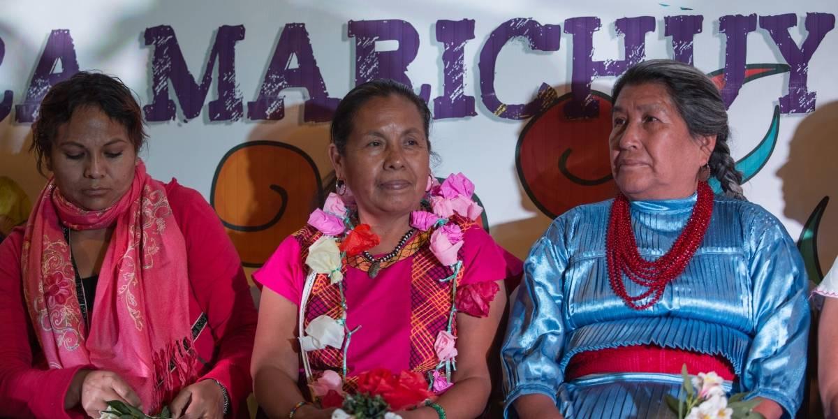 La lucha indígena continuará, no me siento derrotada: Marichuy