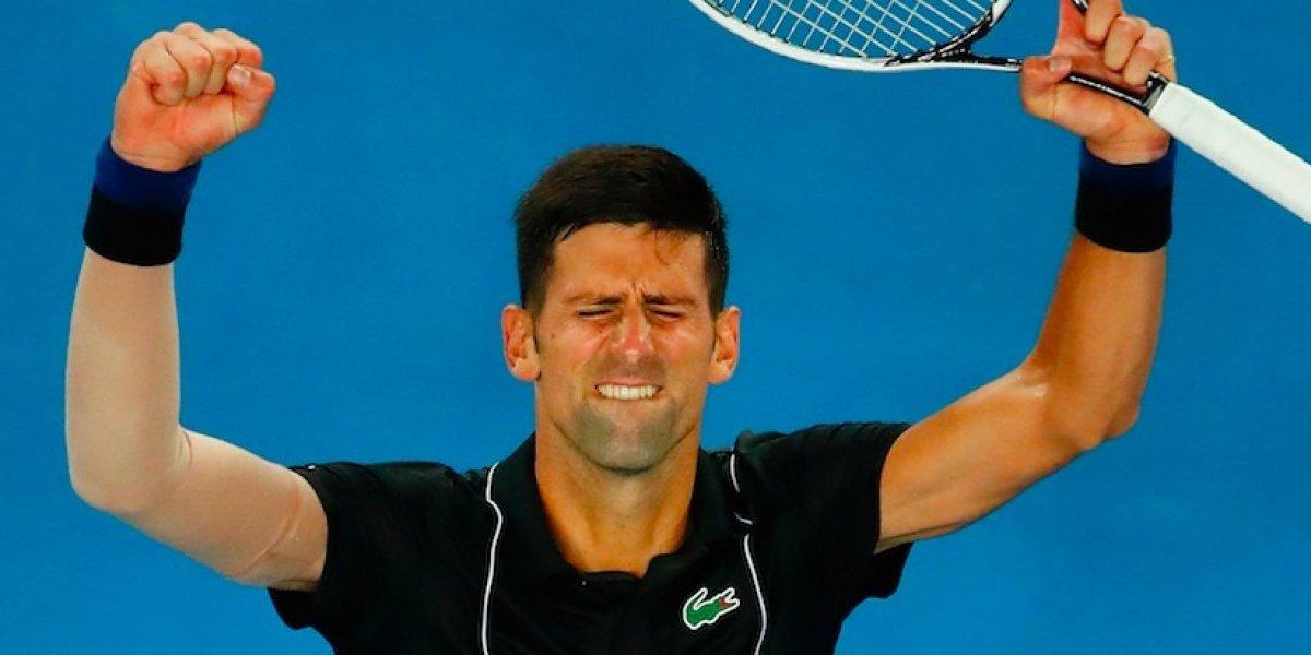 Djokovic avanza a Octavos del Abierto de Australia