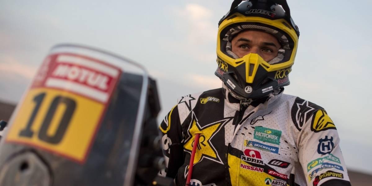 Quintanilla decepcionó y Cornejo sorprendió en las motos del Dakar 2018