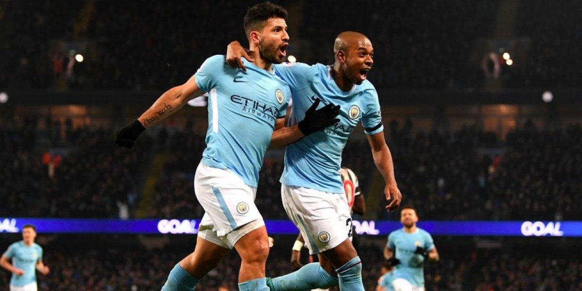 De la mano de 'Kun' Agüero el Manchester City golea al Newcastle