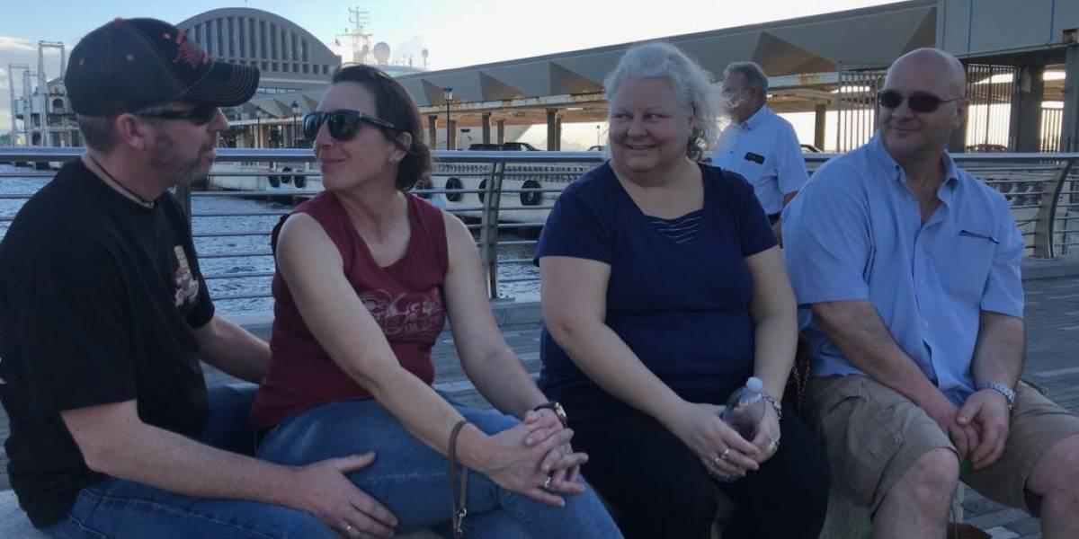 Turistas estadounidenses reprueban respuesta federal en Puerto Rico tras María