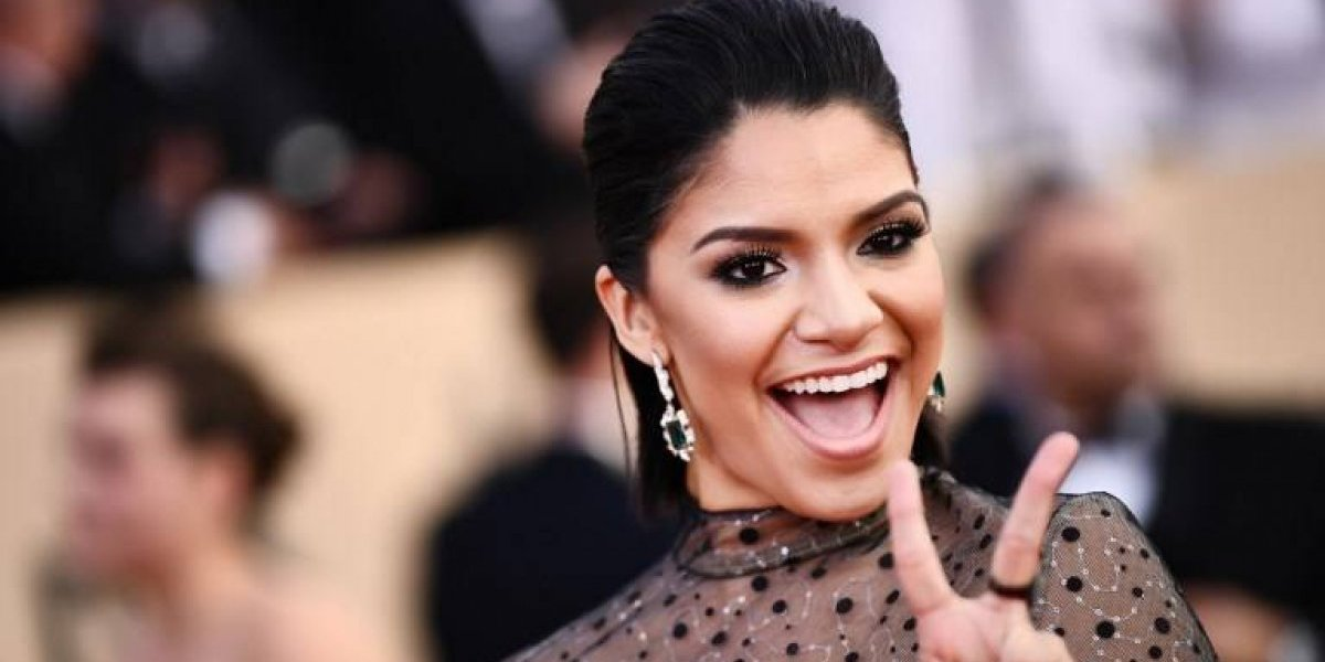 La actriz que mostró sus senos en los SAG Awards 2018