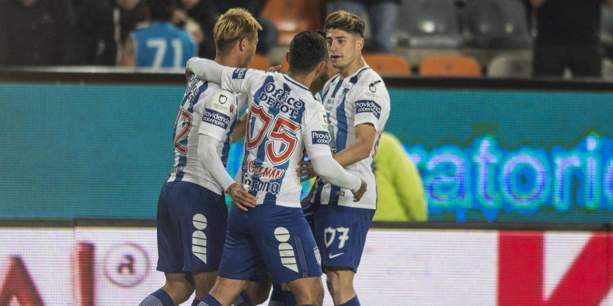 Pachuca se impone ante Lobos en el estadio Hidalgo