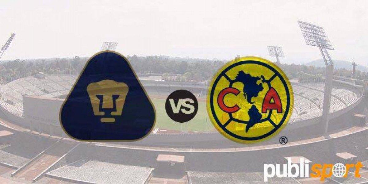 EN VIVO: Pumas vs. América, Jornada 3, Clausura 2018