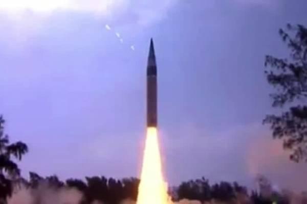 India prueba misil con capacidad nuclear