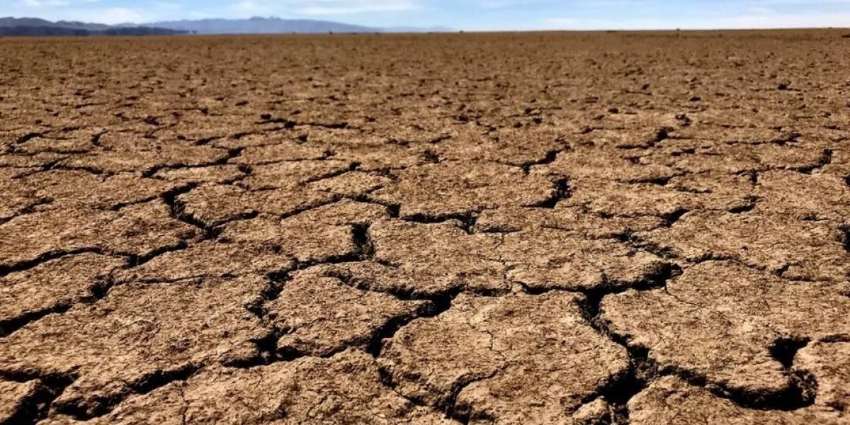 O estranho lago que aparece e desaparece na Bolívia