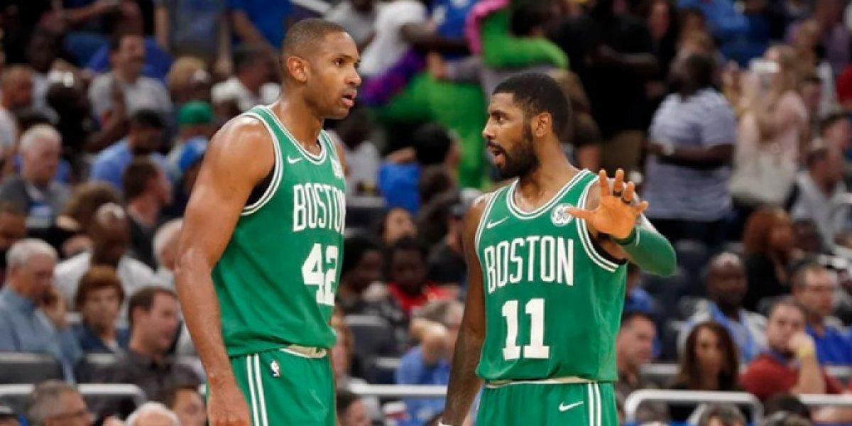 Kyrie Irving anota 40 y Al Horford nueve en la derrota de los Celtics
