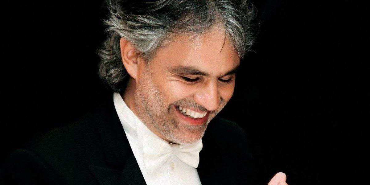 Boletas concierto Andrea Bocelli a la venta