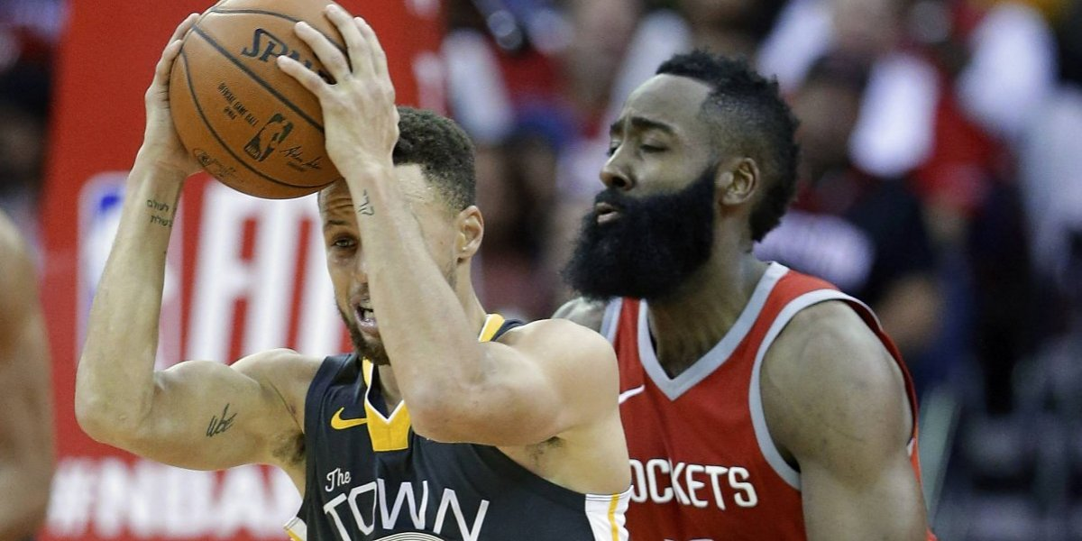 NBA: Houston frena a Golden State y Oklahoma City humilla a Cleveland en duelos de gigantes