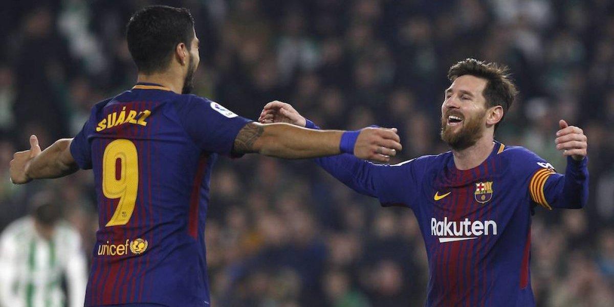 Guardado y el Betis son goleados por el Barcelona