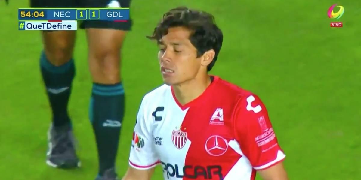 Matías Fernández volvió a lesionarse en derrota de Necaxa ante un Querétaro sin Puch