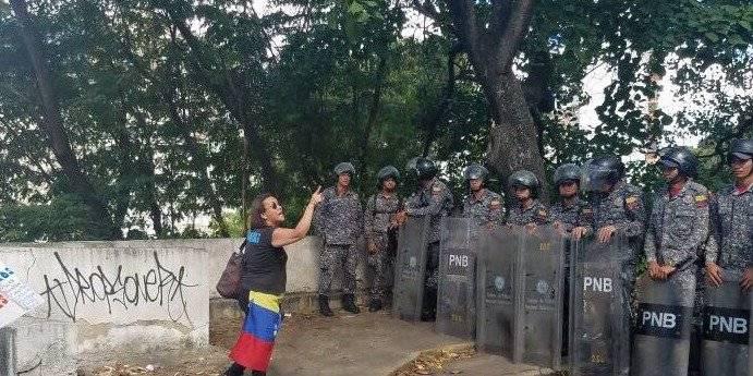 Entierro de Oscar Pérez