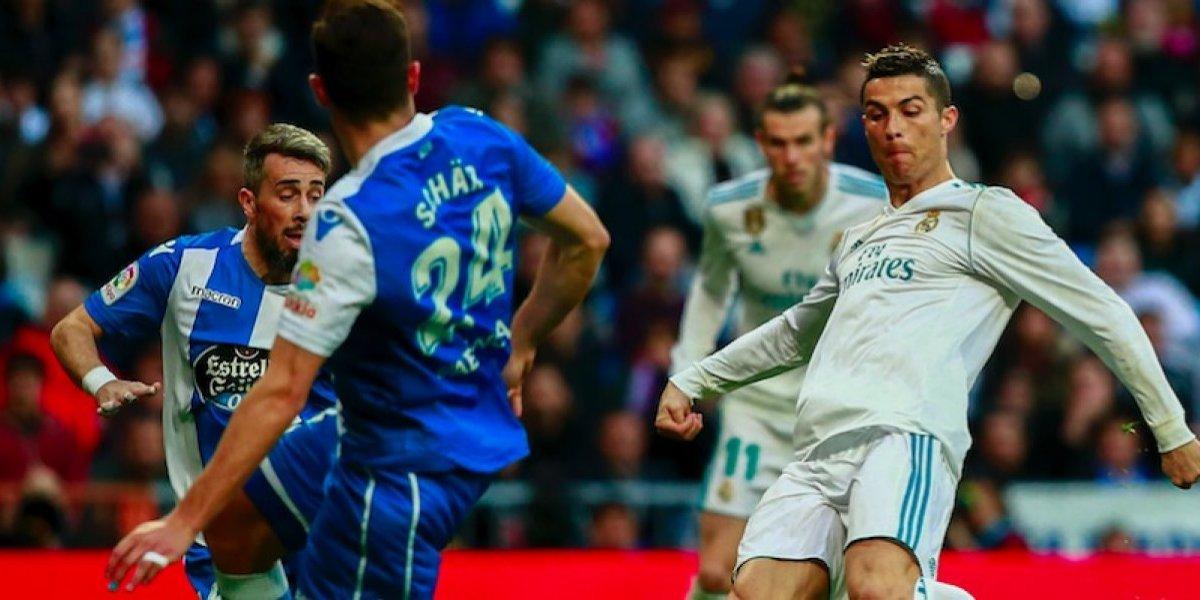Real Madrid se ensaña y golea al Deportivo La Coruña