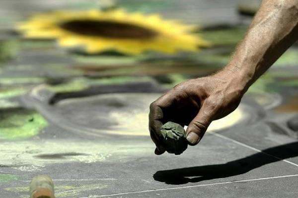 Pinturas en tercera dimensión dejan huella en calles de Chiapas