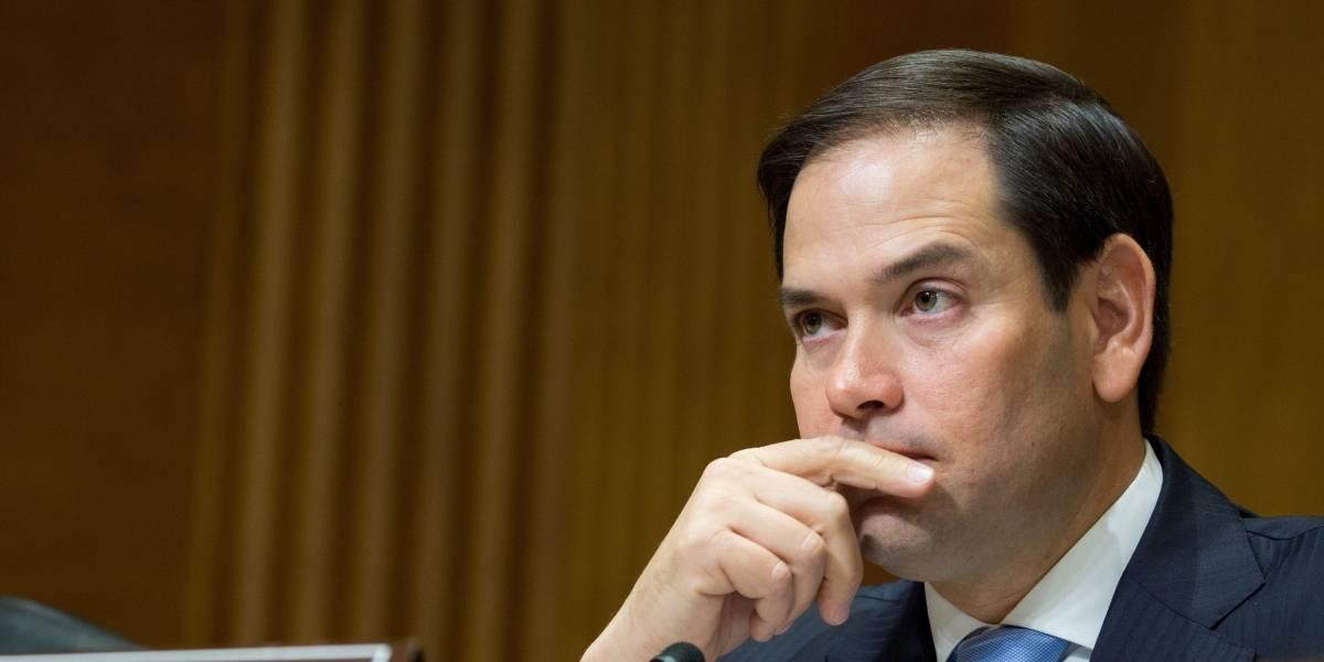 Marco Rubio a favor de golpe de estado en Venezuela