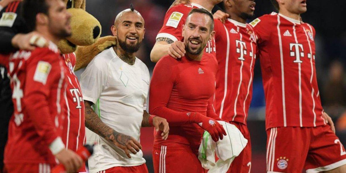 """Vidal condiciona su futuro en el Bayern: """"Sigo hasta junio, espero ganar la Champions y luego veremos"""""""
