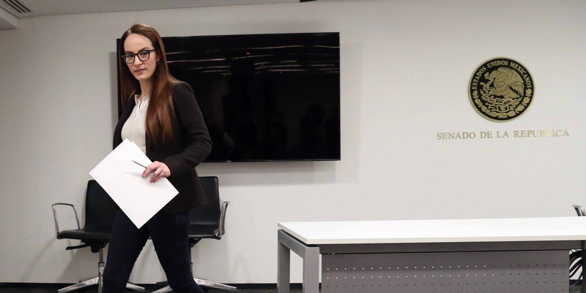 Gabriela Cuevas renuncia al PAN; se suma a AMLO