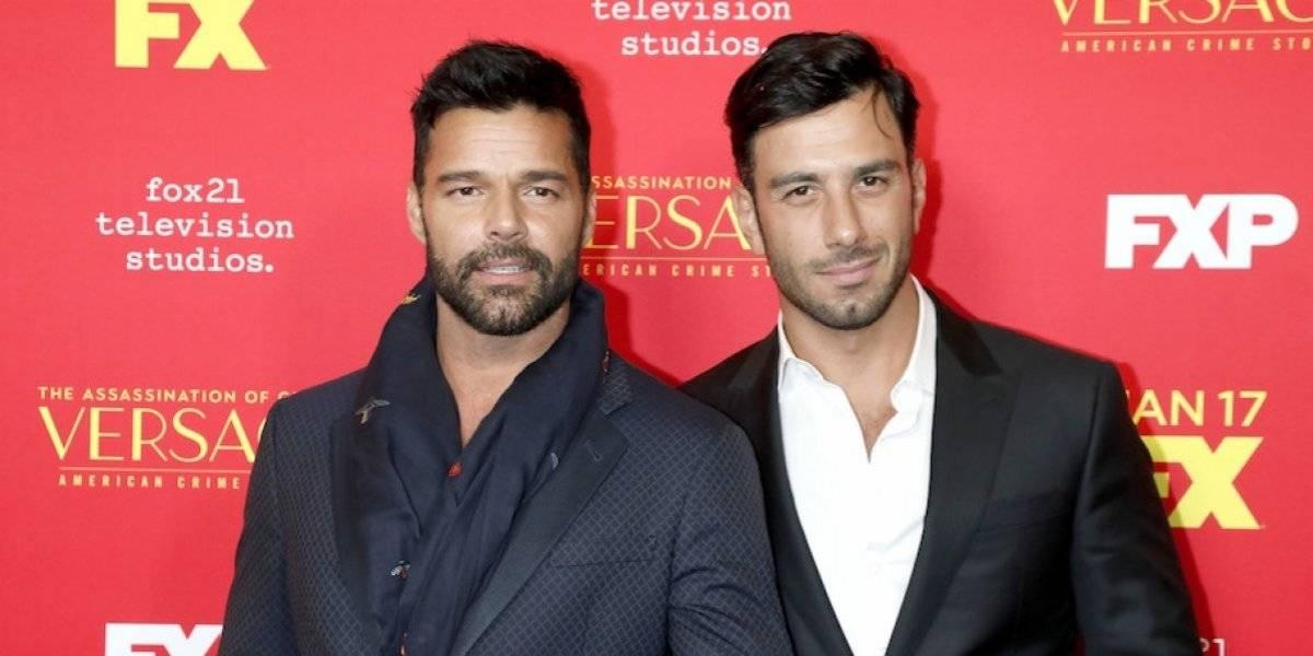 Ricky Martin enloquece las redes al subir una foto en la cama con su esposo