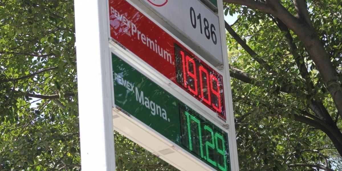 Gasolina supera 19 pesos por litro