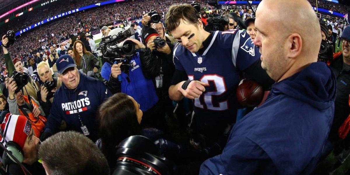 La herida en la mano derecha de Tom Brady