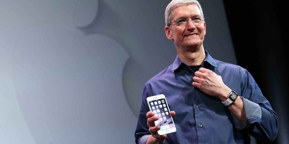 Apple registró ganancias de USD $18.000 millones durante el primer trimestre de 2015