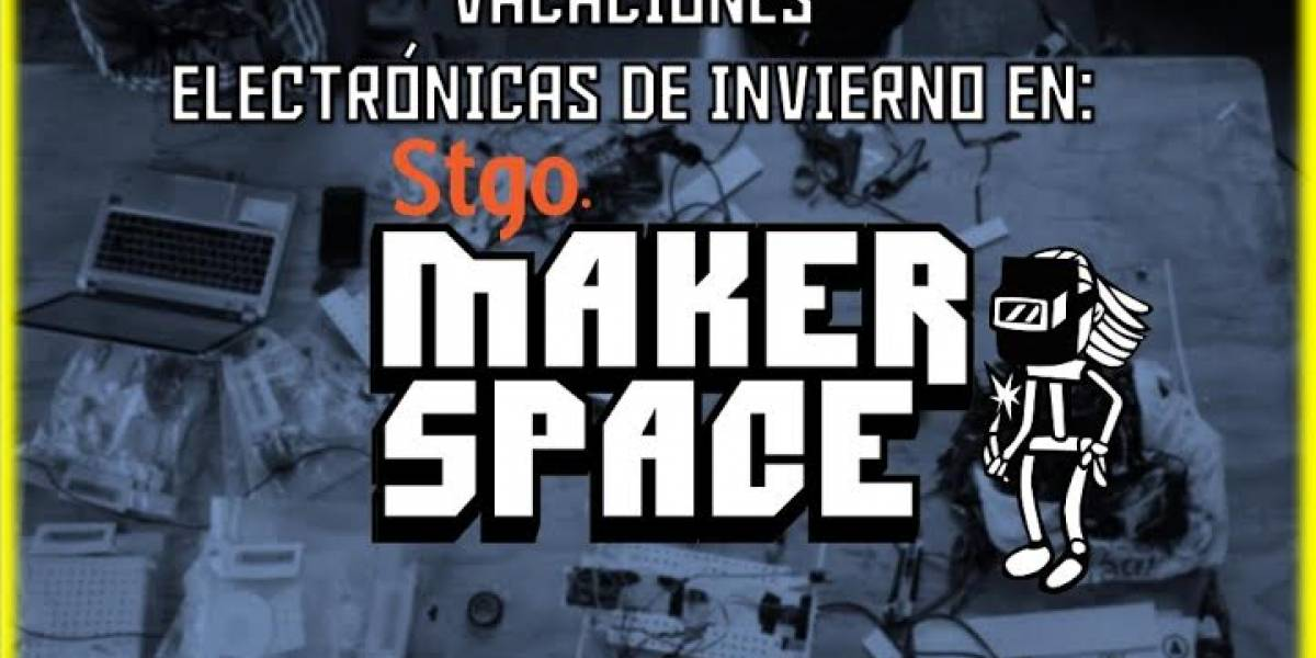Vacaciones Electrónicas: tecnología para niños en el Stgo. Makerspace