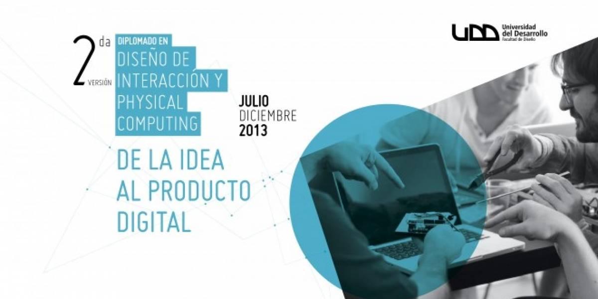 De la idea al prototipo interactivo, diplomado Facultad de Diseño UDD
