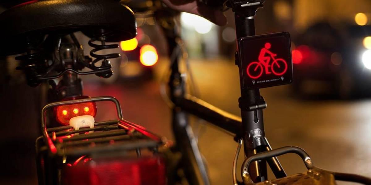 Luces con símbolos de bicicletas serían más efectivas para advertir a automovilistas
