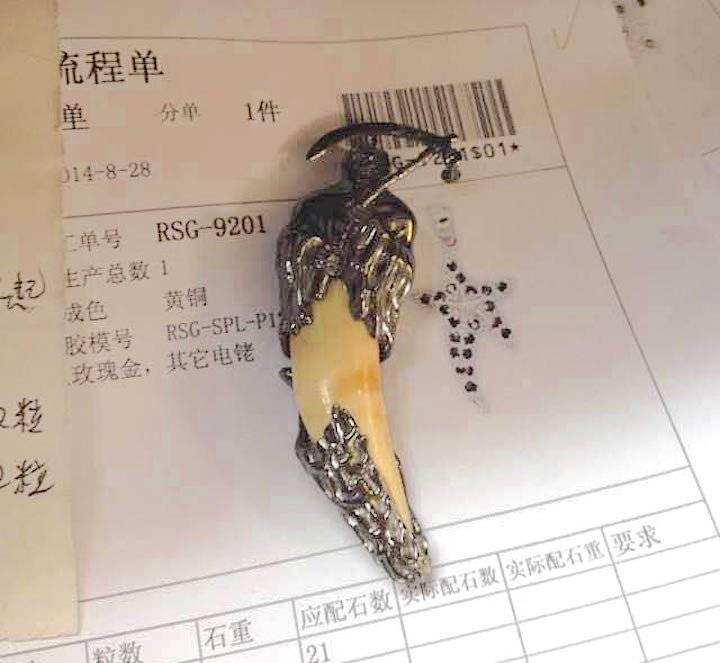 En China son altamente demandados los colmillos de jaguar. Los utilizan en medicina (por sus supuestas propiedades curativas), afrodisíacos y amuletos  