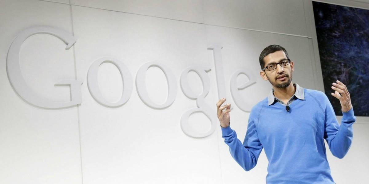 Todos quieren aparecer en la página de Wikipedia de Sundar Pichai