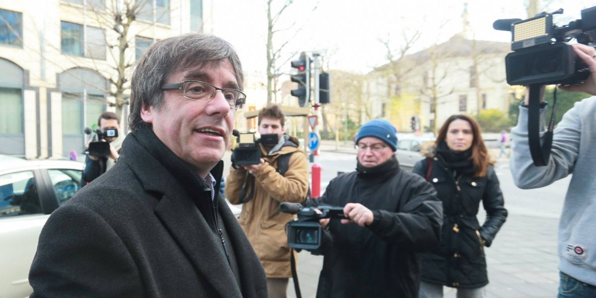 Tribunal español niega petición para arrestar a Puigdemont en Dinamarca