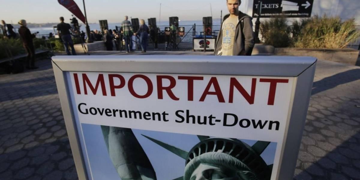Cuáles son los efectos del cierre temporal del Gobierno de EEUU