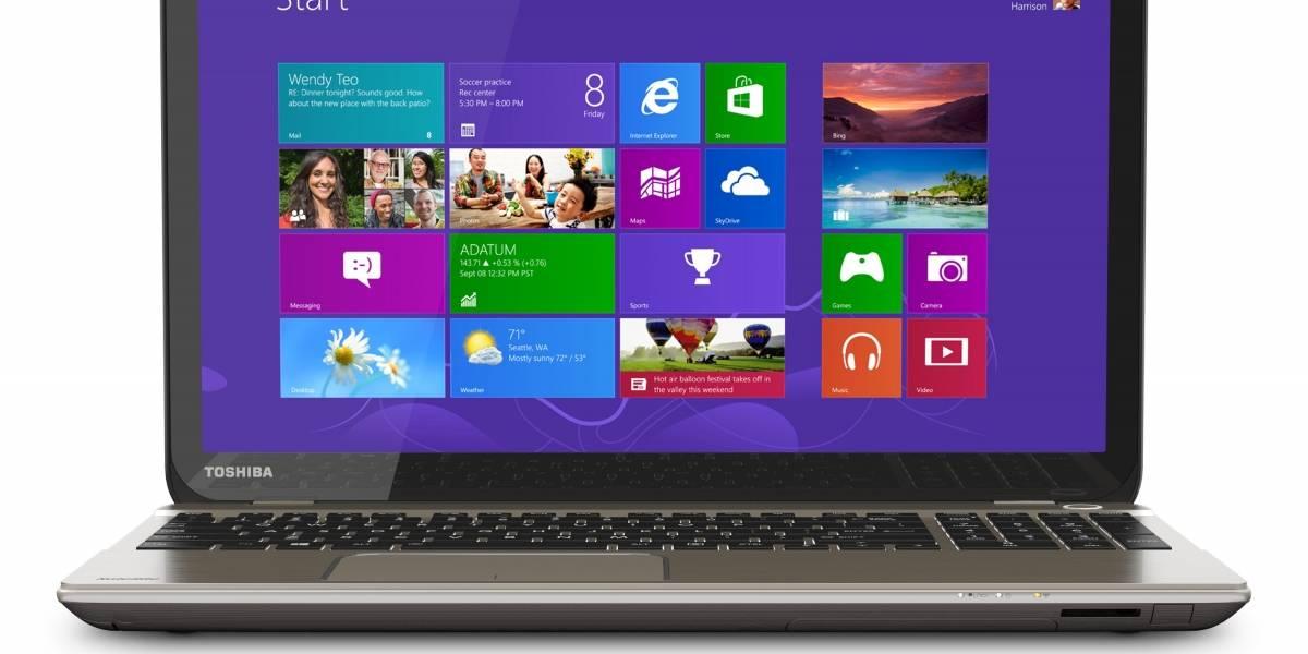 Toshiba anuncia laptop con pantalla 4K