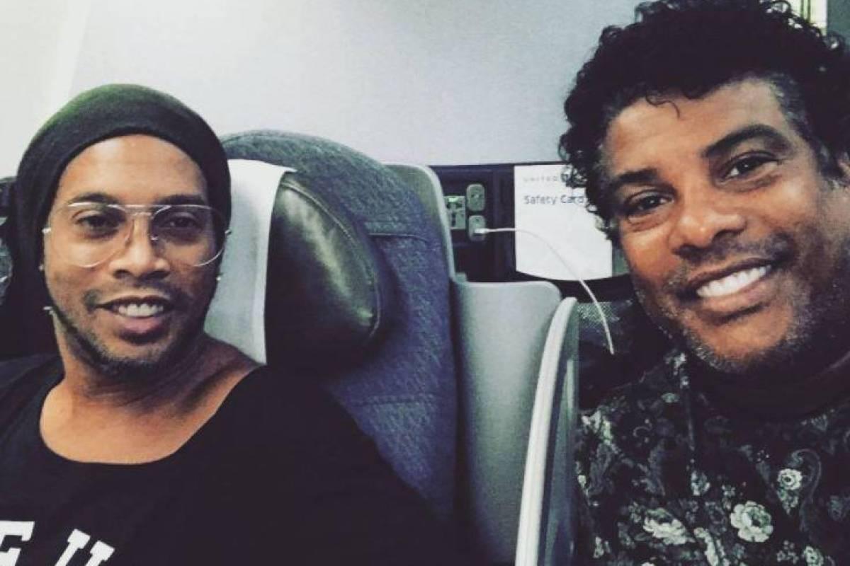 10º - Ronaldinho Gaúcho tem um Embraer Phenom 100 avaliado em 2,9 milhões euros Instagram