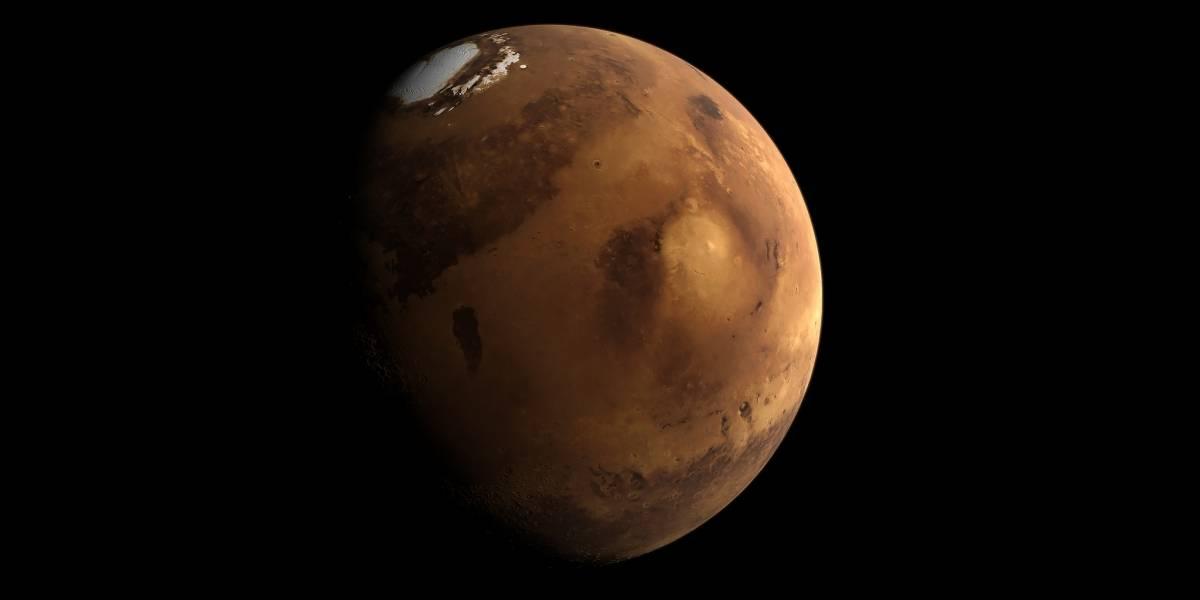Tsunamis gigantescos pudieron haber moldeado la superficie de Marte