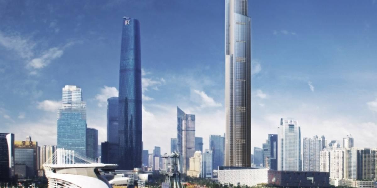 El próximo ascensor más rápido del mundo tardará 43 segundos en subir 95 pisos