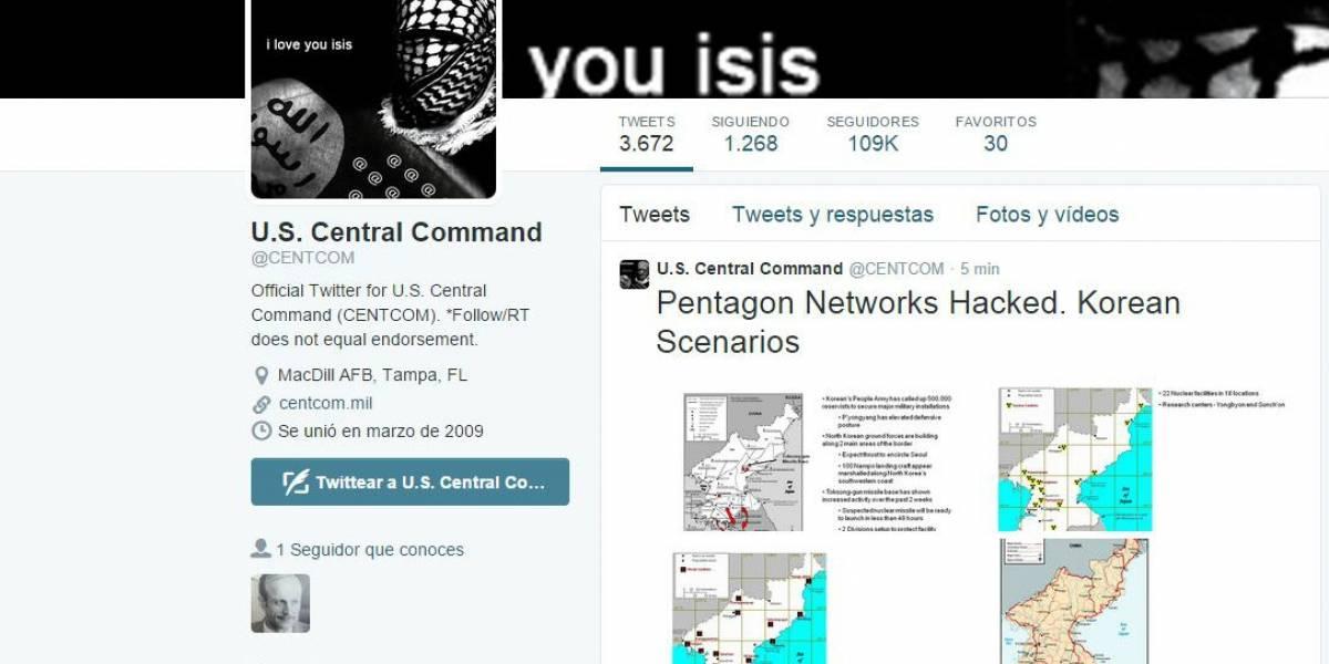 ISIS hackea el Mando Central de los Estados Unidos [Actualizado]