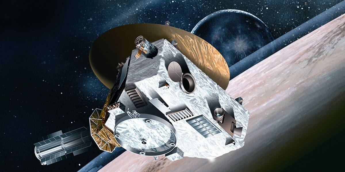 New Horizons ya se encontró frente a frente con Plutón