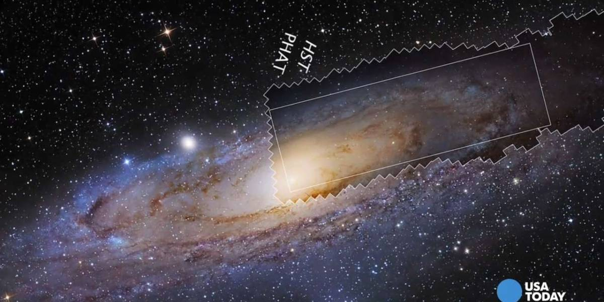 La NASA libera la imagen de Andrómeda con mayor resolución de la historia