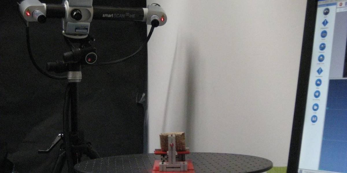 Microsoft posee patente de escáner 3D que no requiere de una tarima rotatoria