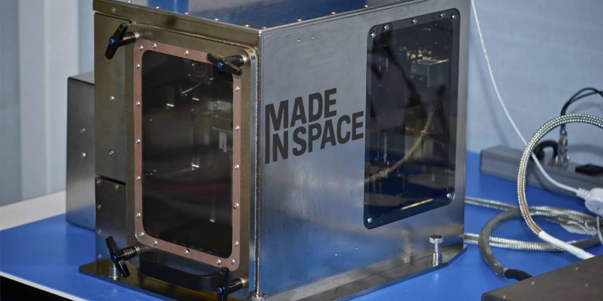 Llevarán una impresora 3D a la Estación Espacial Internacional
