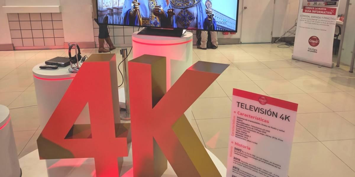 Claro Chile realizó primera prueba experimental de transmisión a 4K