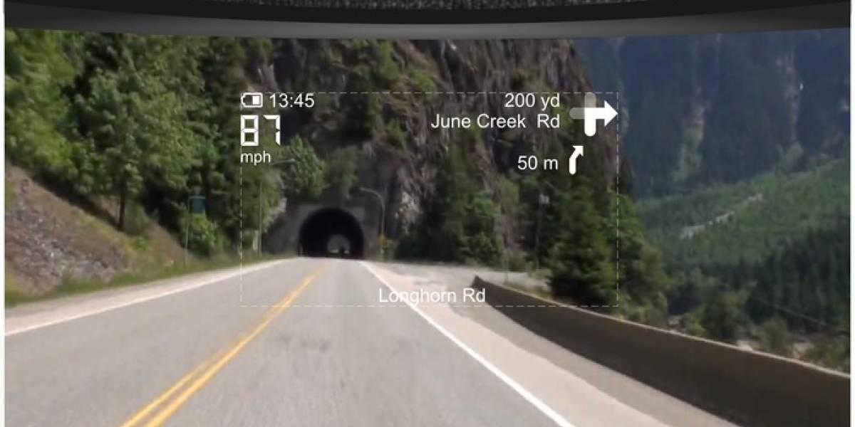 LiveMap: Un casco de motocicleta de realidad aumentada busca fondos en Indiegogo