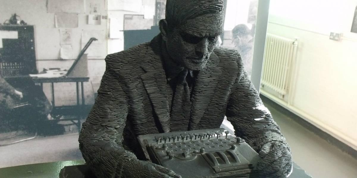 Subastarán en un millón de dólares un diario de Alan Turing