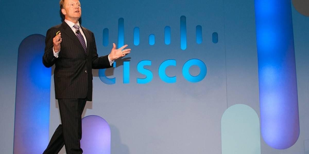"John Chambers, CEO de Cisco advierte, ""si vas a competir contra nosotros, vas a perder"""
