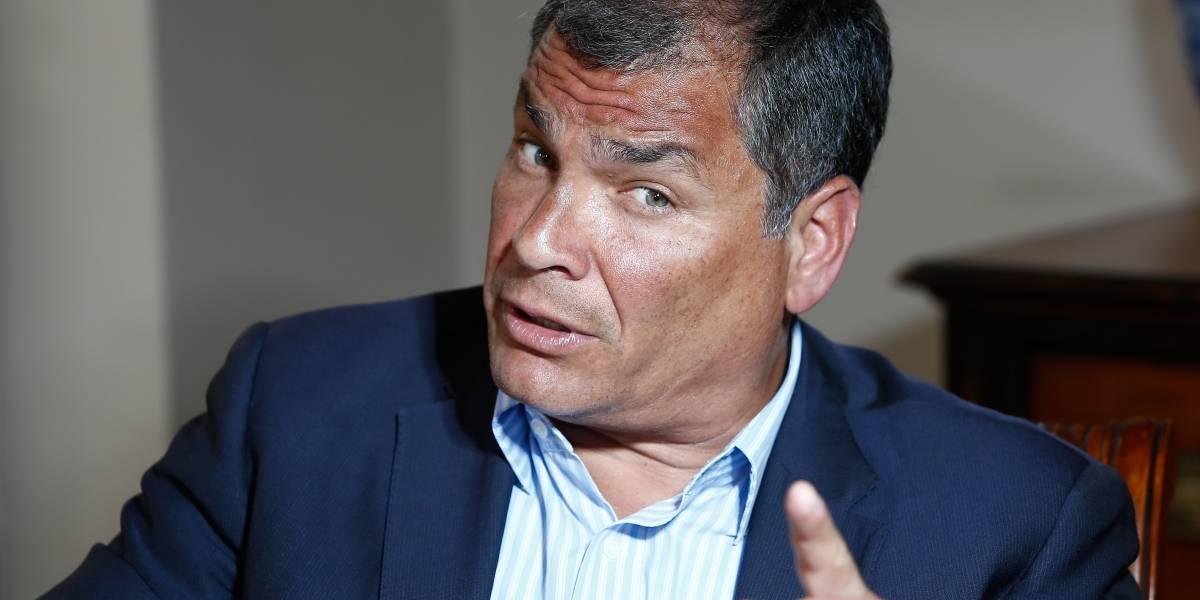 Unidad Popular reconoció firma en denuncia contra Rafael Correa