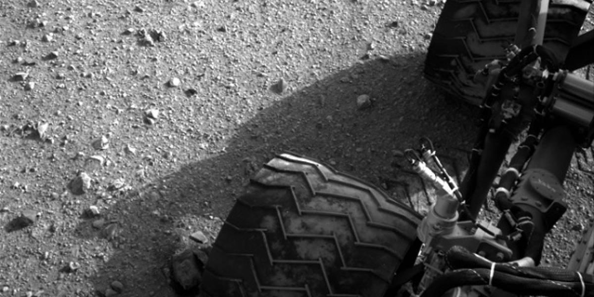 El Rover Curiosity deja su lugar de aterrizaje y comienza su viaje por Marte